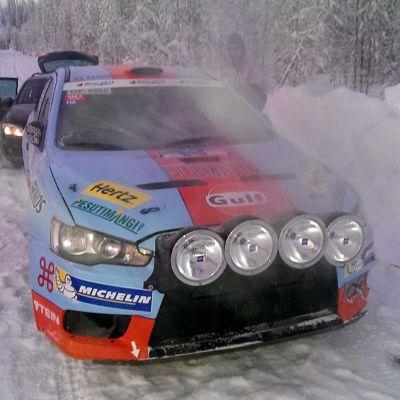 Juha Salon ralliauto
