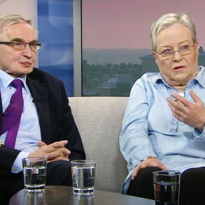 Ulf Sundqvist ja Yrsa Stenius.