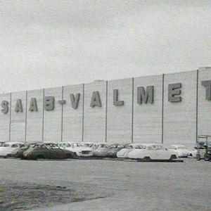Saab-Valmetin tehdas Uudessakaupungissa