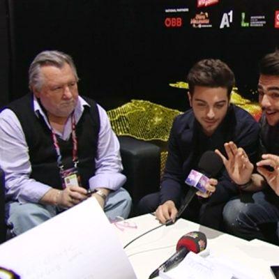 Italian Euroviisu-edustajat.