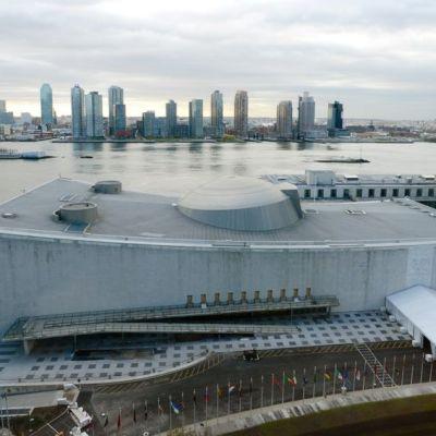 YK-rakennukset ilmakuvassa