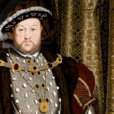 Hans Holbein nuoremman maalaus Henrik VIII:sta.