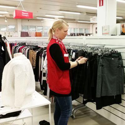 Oulun Kontti on vanhin SPR:n kierrätystavaratalo.