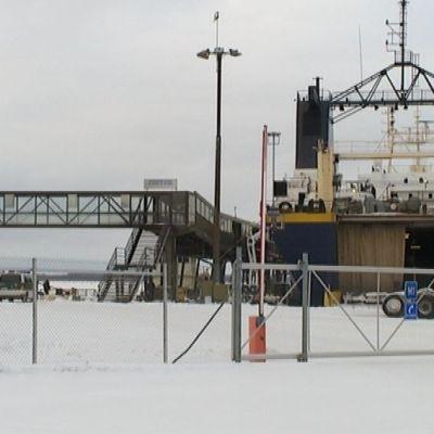Arkivbild. RG 1 i Vasa hamn.