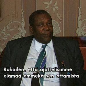 B.B. King haastattelussa 1995.