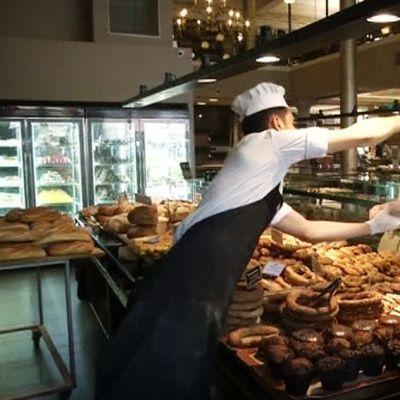 Kreikkalainen leipomo.