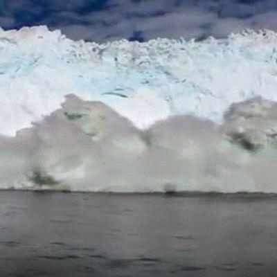 Jäävuori ja hyökyaalto
