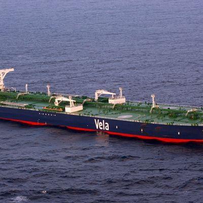 Liberian lipun alla seilannut öljytankkeri, jonka merirosvot kaappasivat marraskuussa 2008.