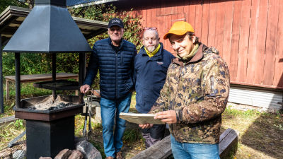 Bjarne Wahlman, Patrik Sundberg och Richard Wahlman.