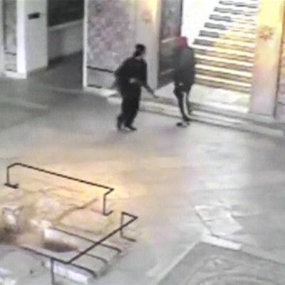 Terrorister på museum i Tunis