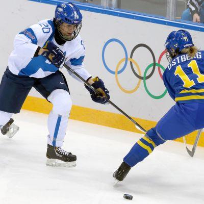 Suomi-Ruotsi naisten jääkiekko