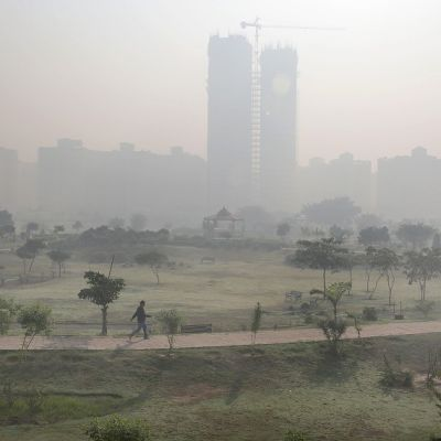 sumuinen kaupunki