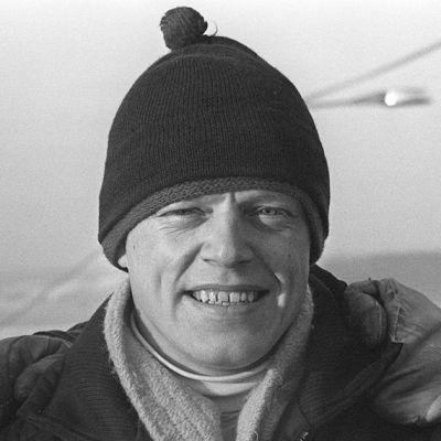 Veikko Kankkonen kuvassa