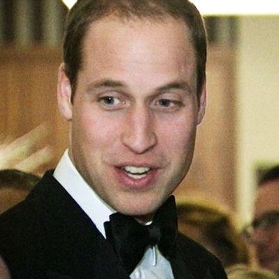 Prinssi William gaalassa.