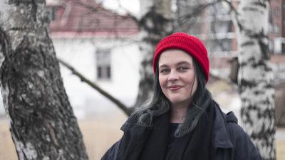 Sandra Anttila, nyhetschef för Yle Huvudstadsregionen.