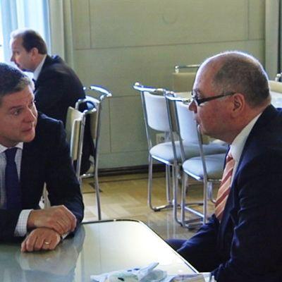 Kataja och Heinäluoma kommer överens efter talmansvalet
