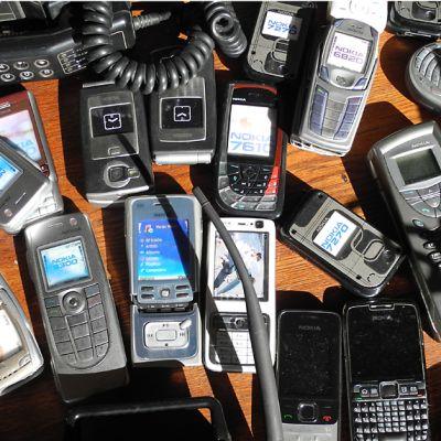 Nokian kännyköitä