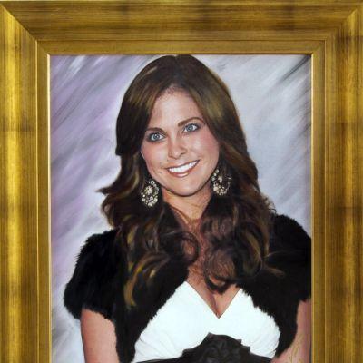 Madeleine maalauksessa