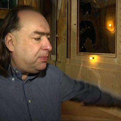 Teatteriohjaaja Andriy Zholdak
