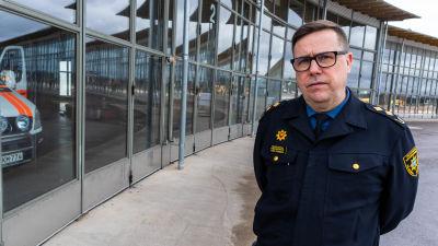 Räddningsdirektör Peter Johansson.