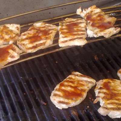Lihat maustetaan grillauksen aikana