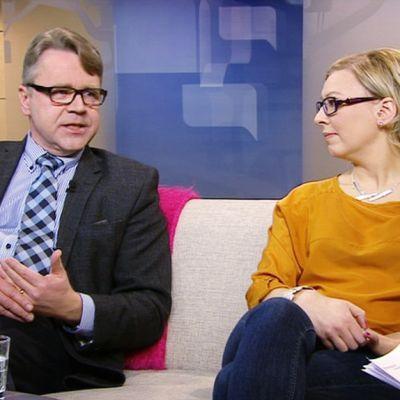 Peter Östman ja Aino-Kaisa Pekonen.