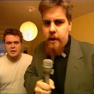 Mikael Crawford och Stan Saanila, Yle Arkivet 1991