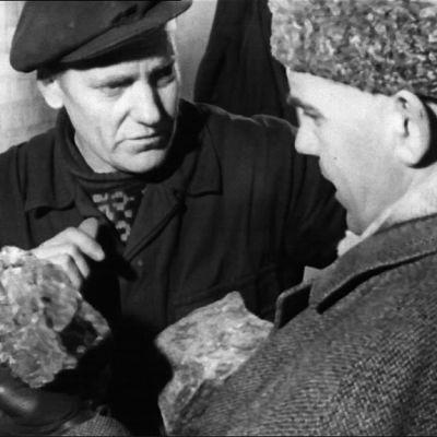 Henrik Cederlöf och järnmalm, 1965