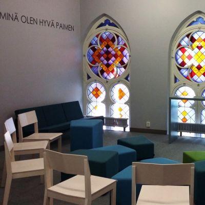 luther kirkko highlight lasimaalaus helsinki