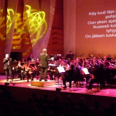Kilpisydän soi -konsertti Kuopion musiikkikeskuksessa.