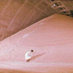 Vaikuttava vuori sokeria.