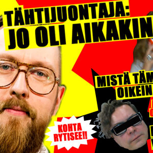 Sensaatiolehteä imitoiva mainos matti Airaksisesta kertovan dokumentin tekemisestä.