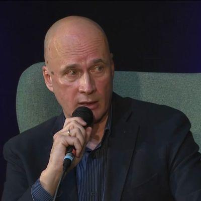 Mikko Ylikangas Helsingin kirjamessuilla 2016