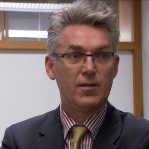 Professor Ron Zevenhoven vid Åbo Akademi.