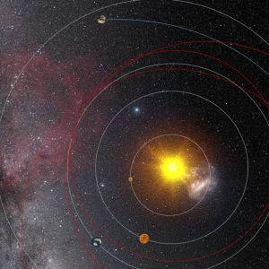 Rosetta landar på en komet