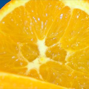 Appelsiini lähikuvassa
