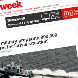 Skärmdump från sajten europe.newsweek.com.