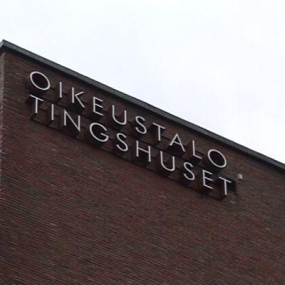 Tingshuset i Helsingfors.