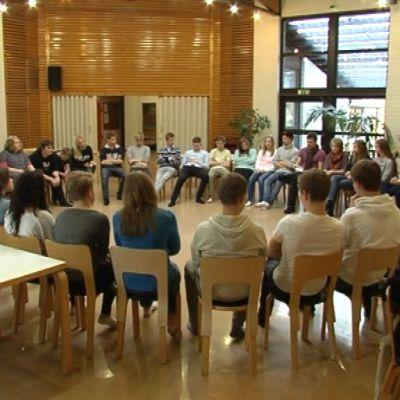 Hjälpledarutbildning på Karijärvi lägergård