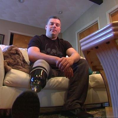 JP Norden var en av de åsåkdare som skadades i bombattentatet under Boston marathon 2013