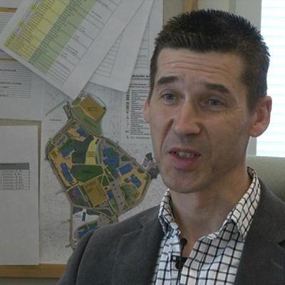 Ben Antell är teknisk direktör i Korsholm