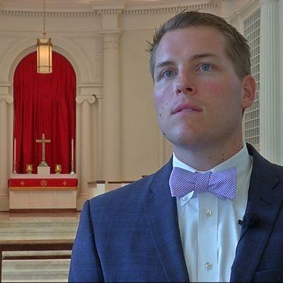 Pastor Matthew Ruffner var aktiv i proteströrelsen