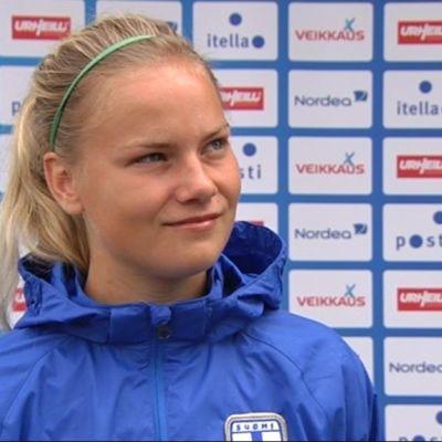 Julia Tunturi inför VM.