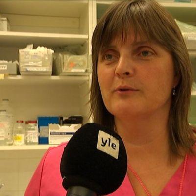 Sjukskötare Anne Karlsson