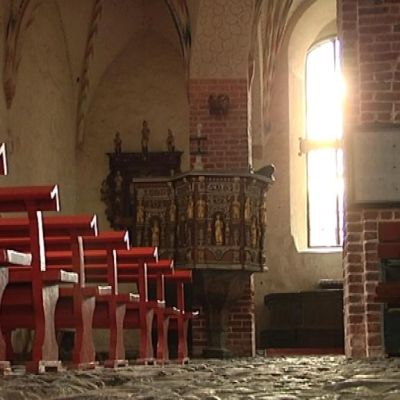 In i Sibbo gamla kyrka