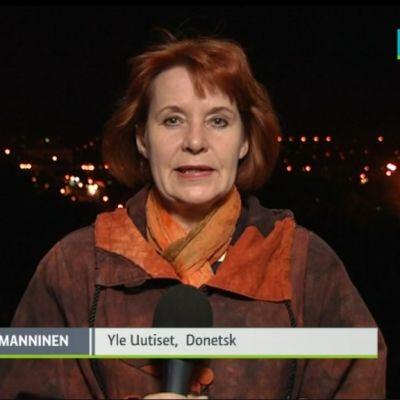 Marja Manninen rapporterar direkt från Donetsk, Ukraina.