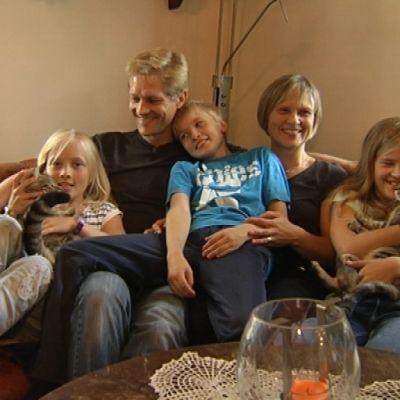 Familjen Knaapinen i Karis