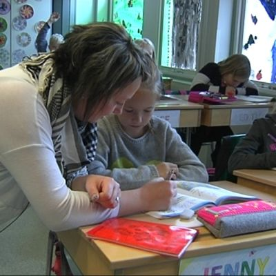 Antonia Lindholm i Höjdens skola