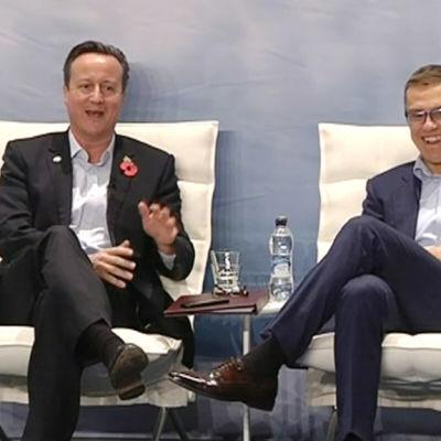 Alexander Stubb och David Cameron