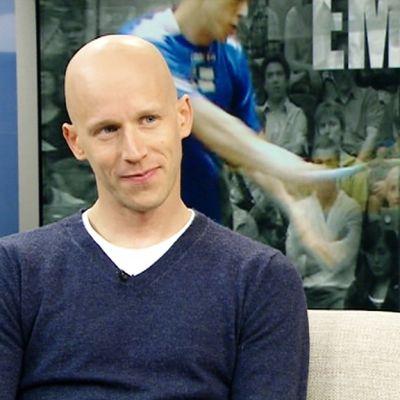 Olli Tuominen i samband med EM 2012.